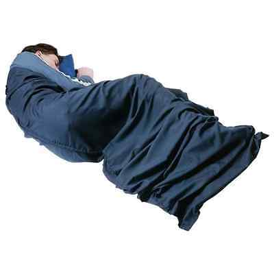 Trekmates Hotelier Sleeping Bag Liner Navy