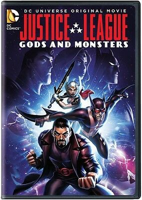 Justice League: Gods & Monsters (2015, DVD NEW)