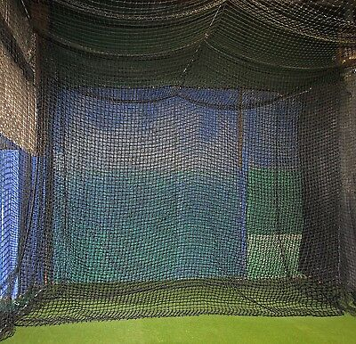 Batting Cage 12x14 #84 Twisted Poly Backdrop Backstop or divider