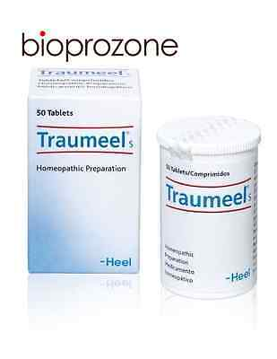 Traumeel S Homeopathic 50 Tablets Anti-Inflammatory Pain Relief Analgesic HEEL