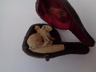 French Meerschaum Antique Pipe - Eagle Figure
