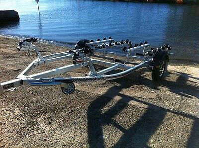 Savage Trailers Deluxe Double Jet Ski Trailer -Suits 2 And 3 Seat Pwc