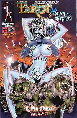 Tarot Witch of the Black Rose 19 a Broadsword Jim Balent sexy NM FREE UK POSTING