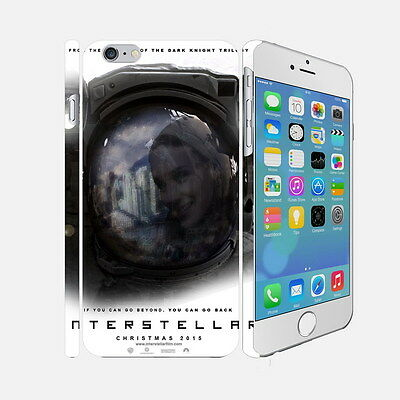 F001 Interstellar - Apple iPhone 4 5 6 Hardshell Back Cover Case