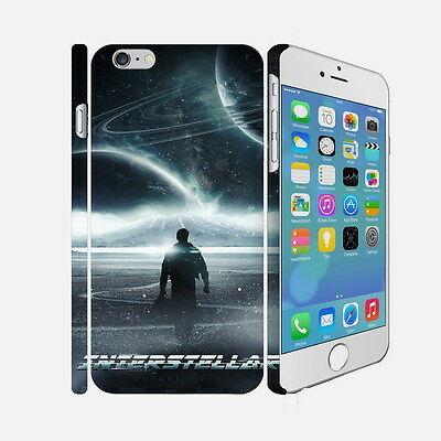 F014 Interstellar - Apple iPhone 4 5 6 Hardshell Back Cover Case