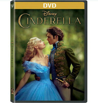 Cinderella (Live Action) (2015, DVD NEW)