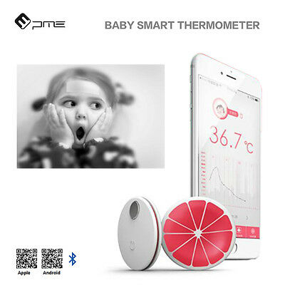 1pc Bluetooth Smart Thermometer APP Intelligent Thermometer for Baby Kid Adult
