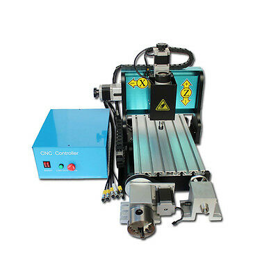 MT8 110V 300W 4 AXIS 3020 CNC Router Engraving Drilling Milling Machine USB Port