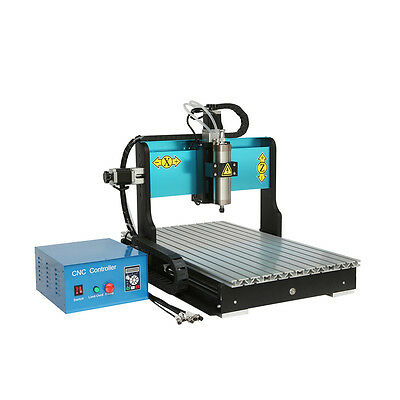 MT8 110V 800W 3 AXIS 6040 CNC Router Engraving Drilling Milling Machine USB Port