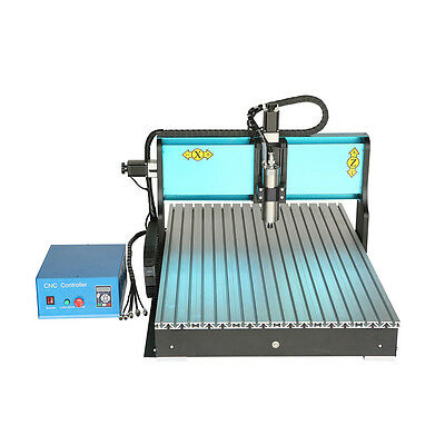 MT8 110V 2200W 3 AXIS CNC6090 Router Engraving Drilling Milling Machine USB Port
