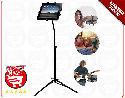 Tablet Stand iPad Android Samsung Universal Fit Fully Adjustable 72-140cm REFURB