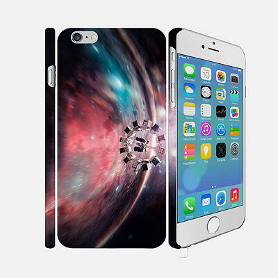 F047 Interstellar - Apple iPhone 4 5 6 Hardshell Back Cover Case