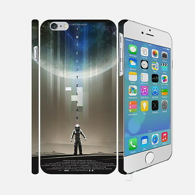 F056 Interstellar - Apple iPhone 4 5 6 Hardshell Back Cover Case