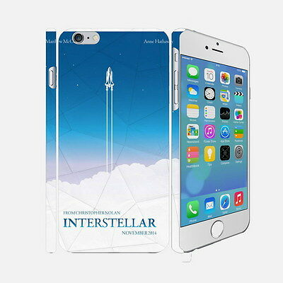 F060 Interstellar - Apple iPhone 4 5 6 Hardshell Back Cover Case