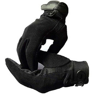 High Motorcycle Bike Military Tactical Airsoft Riding Hunting Full Finger Gloves