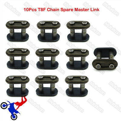 10x T8F Chain Master Link For 43cc 47cc 49cc Mini Moto Quad ATV Dirt Pocket Bike