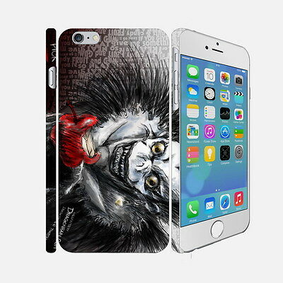 F075 Death Note - Apple iPhone 4 5 6 Hardshell Back Cover Case