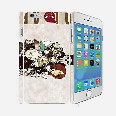 F081 Soul Eater - Apple iPhone 4 5 6 Hardshell Back Cover Case
