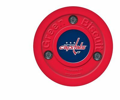 NEW OFF ICE TRAINING GREEN BISCUIT Washington Capitals PUCK