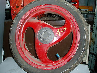 Piaggio nrg 50  Rear wheel and tyre 130/60-13