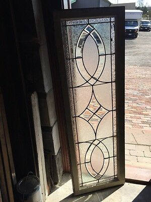 Sg 736 Antique Transom Beveled Glass Window