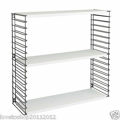 Metaltex Metal 3 Tier Libro Shelving Designed By Adriaan Dekker 377603