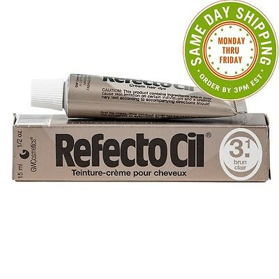 Refectocil #3.1 - Light Brown Cream Hair Dye 0.5oz/15ml Eyebrow Tint