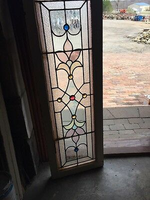 Sg 744 Antique Transom Window 16 1/8 Inch X 48""