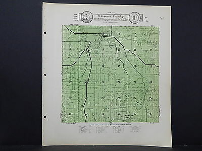 Wisconsin, Walworth County Map, 1930 Whitewater Township L21#43
