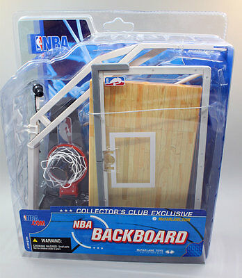 NBA BACKBOARD McFarlane Collector's club exclusive original NBA action figures