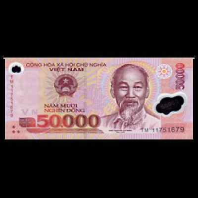 Vietnam Dong 50,000 x 10 Piece (PCS) = 500,000 Currency VND