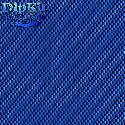 Hydrographics Dip  FILM BLUE Carbon Fiber hydro dipping water transfer CF152