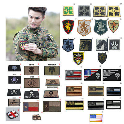 Funny 3D Military Tactical Army Embroidery Morale Sew Patch Vogue Badge Armband