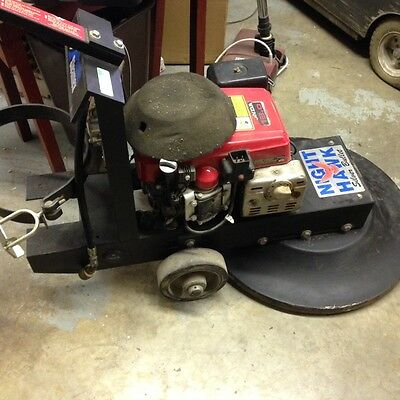 PACIFIC STEAMEX PROPANE BURNISHER ELECTRIC START HONDA Commercial    Scrubber