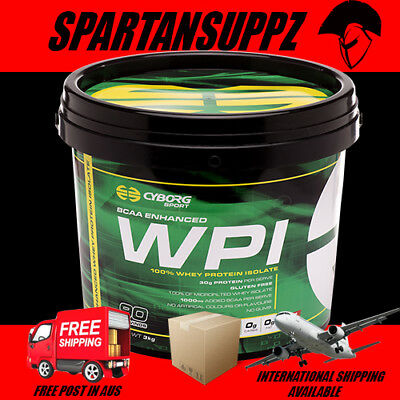 Cyborg Sports Enhanced Wpi Protein Shake 2 Sizes Available All Flavours Aus Made
