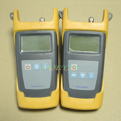 JoinWit  -70~+10 dBm Optical Power Meter Optical Light source 1310/1550nm Tester