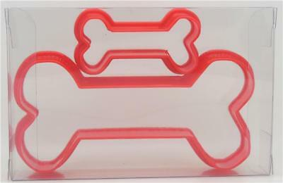 Dog Bone Set of 2 Cookie Cutter, Biscuit, Pastry, Fondant Cutter