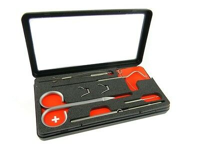 Marc Petitjean Tools Sets / fly tying tools kits / made in Switzerland