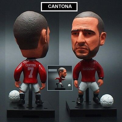 Statuina movable ERIC CANTONA #7 MANCHESTER UNITED football action figure 7 cm