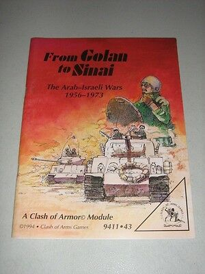 From Golan to Sinai: The Arab-Israeli Wars 1956-1973 (New)