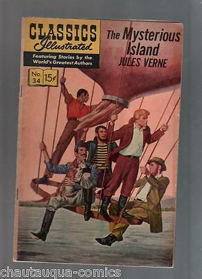 Classics Illustrated lot of 3 books #34 #36 and #38