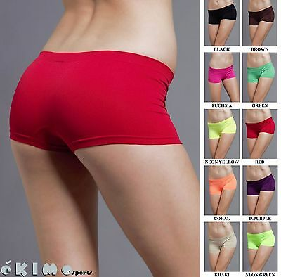 Seamless Club Dance Exercise Activewear Yoga Boy shorts Mini Panties Bike Shorts