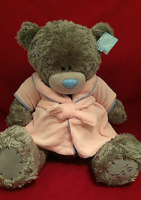 "Me To You Bear Tatty Teddy X-Large 24"" Pink Dressing Gown Bedtime Plush"