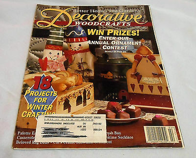Better Homes And Gardens Decorative Woodcrafts - February 1996