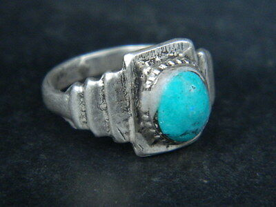 Antique Silver Ring With Stone 1900 AD  #STC263