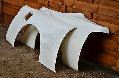 Nissan S14/S14a Rear Overfenders +50mm wide body kit quarter 200sx 240sx