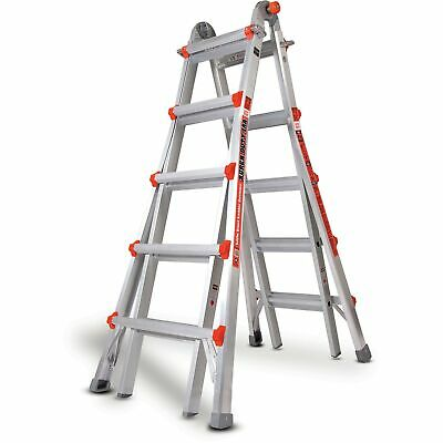 Little Giant 10403 Super Duty Type 1AA (375lbs Rated) 22' Multi-use Ladder