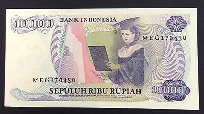 1985 10000 rupiah MEG 170430 circulated condition