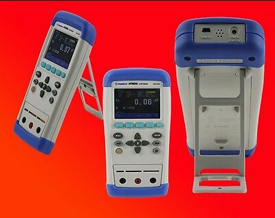 Digital LCR Meter  L C R Q D Z θ ESR Tester TFT LCD Touch Screen USB AT825