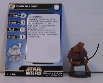 Ithorian Scout 49/60 Star Wars Miniatures Minis Rebel Storm